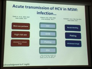 HCV MSM Glasgow 2014