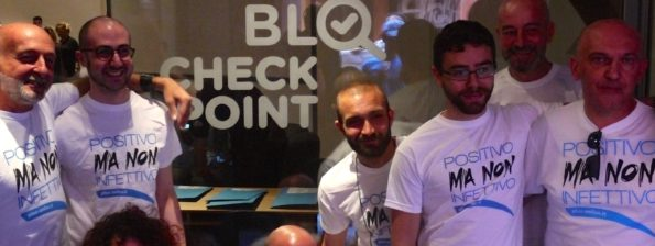 Volontari del BLQ Checkpoint
